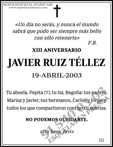 Javier Ruiz Téllez